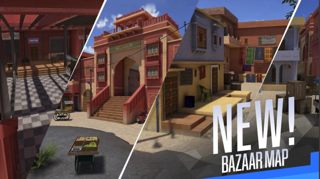 Faug game team deathmatch bazaar map
