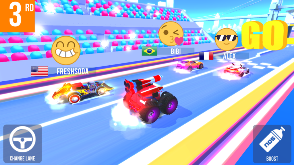 multiplayer games android | SUP Multiplayer Racing